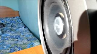 Subwoofer Trust Tytan Extreme excursion & flex