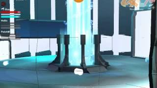 LEGO Universe - Seeing Underneath Nexus Tower