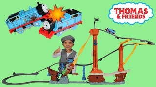 Thomas and Friends Shipwreck Rails Set Unboxing Coolest Thomas Train Track Ever Ckn Toys