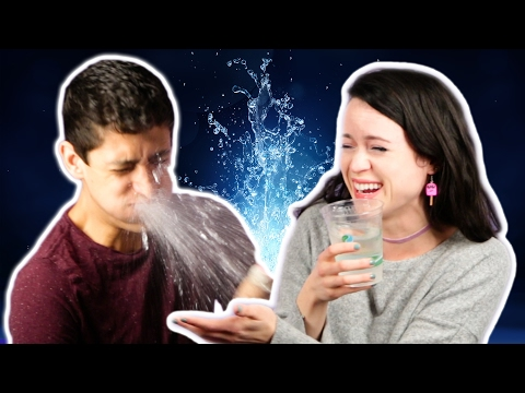 Couples Try The Water Challenge