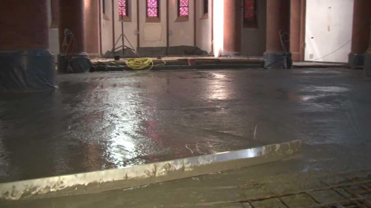 Fußboden Ohne Beton ~ Einsatz in sakralen mauern teil ohne beton gibt s keinen