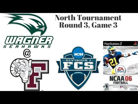 NCAA Football 06 - FCS Tournament - Round 3 - Game 3 - Wagner Seahawks @ Fordham Rams