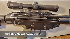UTG Low Profile Rail Mount Failure on CETME Rifle .308 / 7.62x51