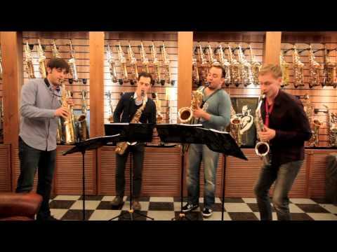 Saxophone Quartet At Mariachi Saxboutique
