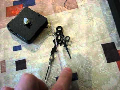 Quartz Clock Movement Mechanism diy kit