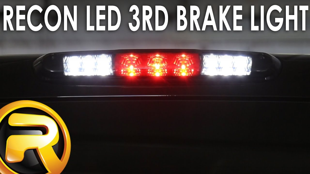 How To Install The Recon Led 3rd Brake Light Youtube