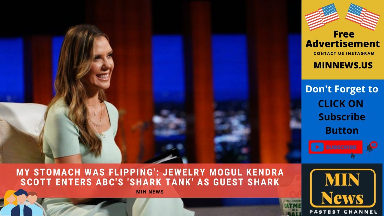 'My stomach was flipping': Jewelry mogul Kendra Scott enters ABC's ...