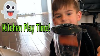 Cooking Kitchen Play Set Slime Truck Videos For Kids, Toy Truck Videos for Children