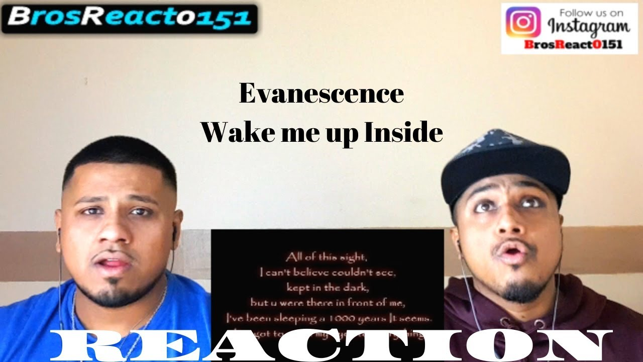 FIRST TIME HEARING | Evanescence - Wake me up Inside [Lyrics] | REACTION