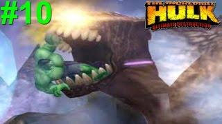 The Incredible Hulk: Ultimate Destruction PS2 Gameplay #10 [Hulk vs Devil-Hulk]