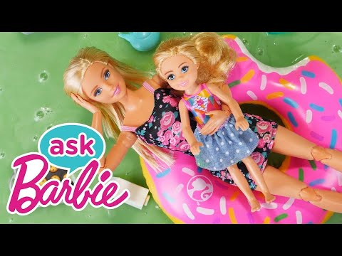 Ask Barbie About Her Sisters! (ft. CookieSwirlC) | Barbie