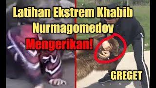 Ngeri! Begini Latihan Ekstrem Khabib Nurmagomedov Kecil Dengan Beruang