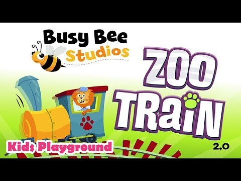 Zoo Train Game Play Busy Bee Studios - Kids Can Build Their Own Train