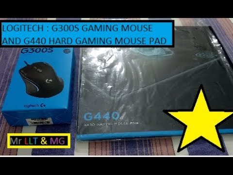 Logitech G300S Gaming Mouse & G440 Gaming Mouse Pad (unboxing & Review)