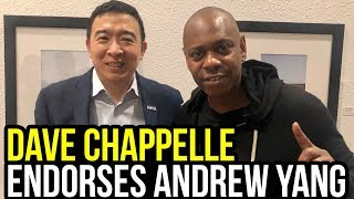 Dave Chappelle Explains Why He Supports Andrew Yang for President
