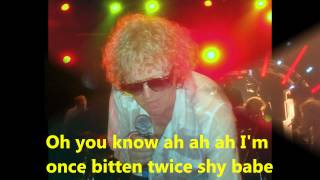 01  Ian Hunter   Once Bitten Twice Shy 1975 with lyrics