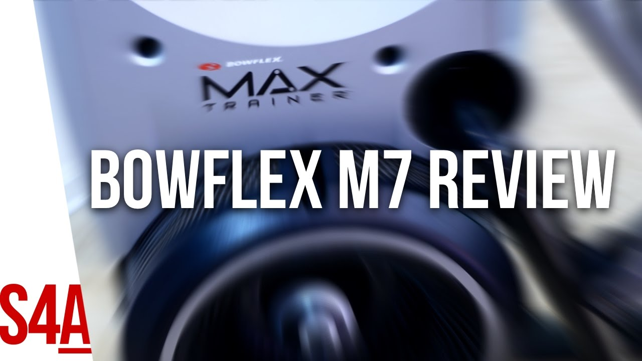 Bowflex Max Trainer M7, M5, & M3 Elliptical Machine Reviews