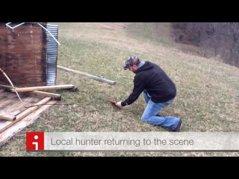 Greene County, PA - Hunting Shanty Destroyed