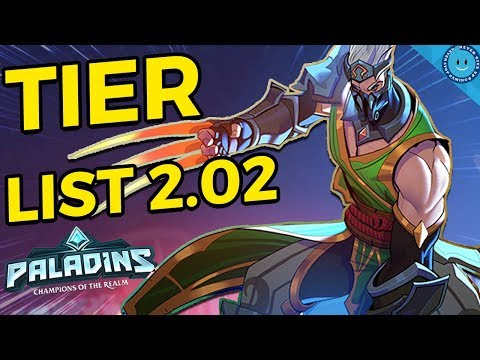 Paladins Tier List 2020.Paladins Tier List 2 02 The Champions You Should Be