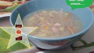 Челлендж! Суп с гречневой лапшой SOBA или бабушкин суп