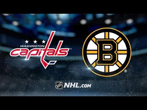 Washington Capitals vs Boston Bruins NHL Game Recap
