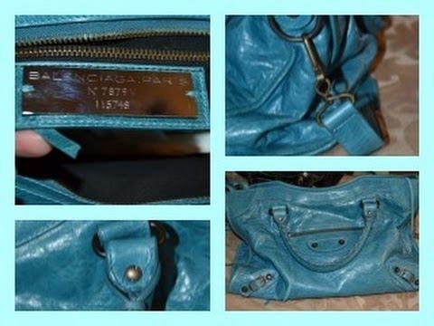 Is it Authentic  Balenciaga Handbags - YouTube b3b506bdc8b7c