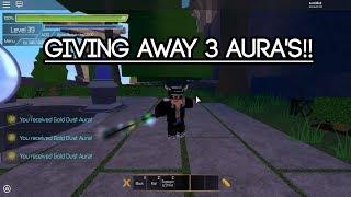 [Roblox Swordburst 2] Giving away 3 Aura's!! [500 Subs giveaway!] [OVER]