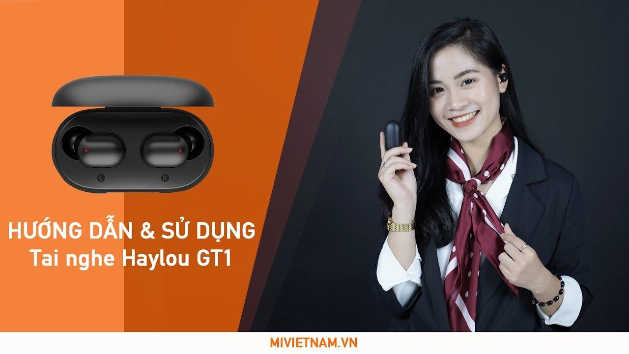 Giới thiệu và hướng dẫn kết nối – sử dụngTai Nghe Bluetooth Mi True Wireless Haylou GT1