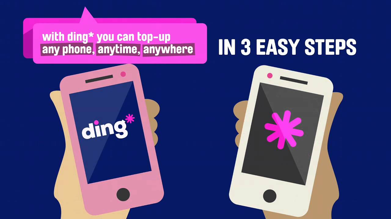 Top-up explained | Ding