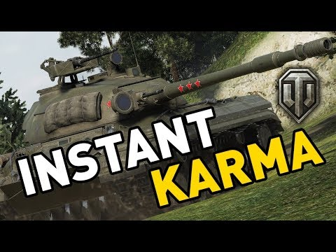 World of Tanks || INSTANT KARMA