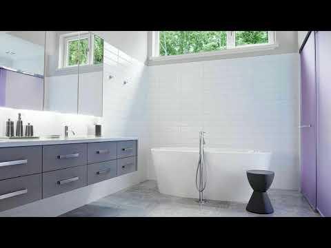 Bathroom Ideas Gray And White
