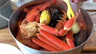 Daytona Beach: eat at Joe's Crab Shack