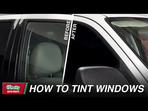 How To: Properly Apply Window Tint