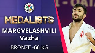 MARGVELASHVILI Vazha Bronze medal Judo Doha Masters 2021