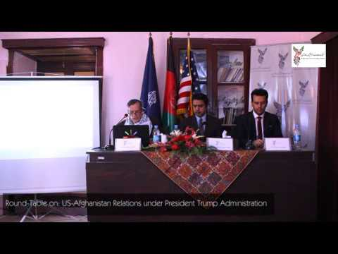 "Round-table on ""US-Afghanistan Relations under President Trump"""