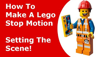 how to make stop motion lego