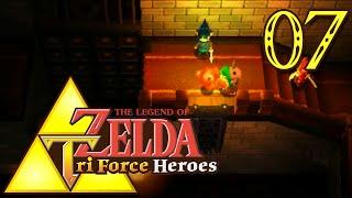 The Legend of Zelda: Tri Force Heroes épisode 7: Exploration dans les Ruines