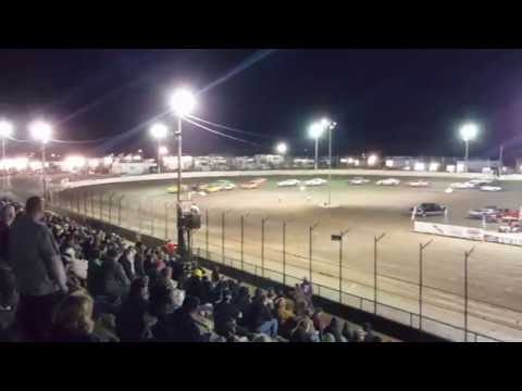 4/16/16 Street Stock Feature at LaSalle Speedway (Illinois) CRASH FEST!!!