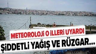 Marmara'da Olumsuz Hava Koşulları! / Son Durum / A Haber