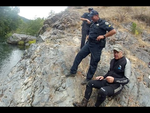 State Police Interrupt a Gold Mining Operation in Oregon!