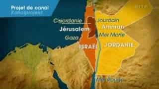 Palästina - Wasser (Ein Kanal vom Roten ins Tote Meer)