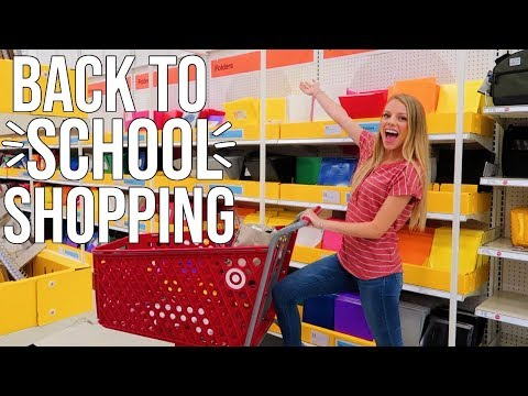 BACK TO SCHOOL SHOPPING VLOG!! Shop with me!