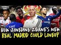 How Will Zidane Set Up Real Madrid | Starting XI, Formation & Transfers