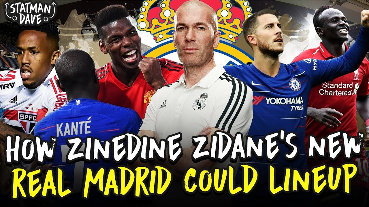 Real Madrid wins first game of Zinedine Zidane's second spell