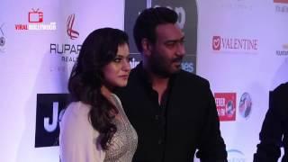 Ajay Devgn And Kajol At HT Most Stylish Awards 2017