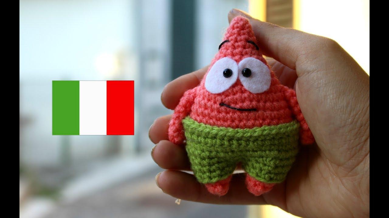 Crochet Doraemon Amigurumi : Mini patrick amigurumi world of amigurumi youtube