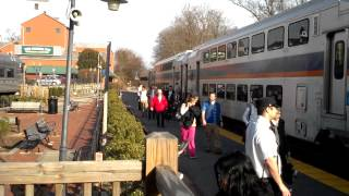 MARC 875 With Bombardier coaches @ Gaithersburg , MD 5:06PM