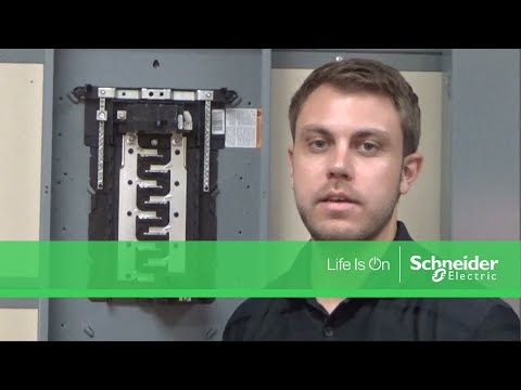 Converting QO™ & Homeline Load Centers from Main Lug to Main Breaker on