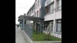 Pintado de fachada de Edificio Zenteno Sede Talcahuano Chile