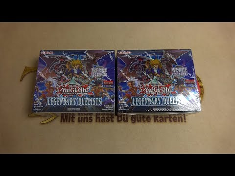 Donnerstags Opening - 2x Legendary Duelists Display